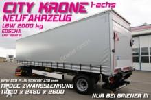 semirimorchio Krone SEP 10/CITY GARDINE LBW 2000 kg DAUTEL TRIDEC !!