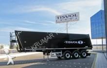 Tisvol alum wywrotka 35/38/41/43/45m3 pelet /zboża/węgiel/koks /inne semi-trailer