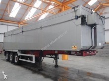 Fruehauf 57 CU-YD ALUMINIUM PLANK SIDED BULK TIPPING TRAIL semi-trailer