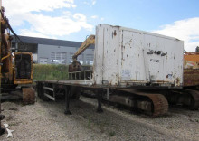 Coder flatbed semi-trailer