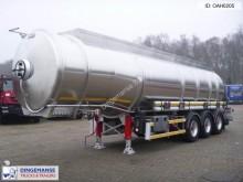 semi remorque Magyar Fuel tank inox 34 m3 / 4 comp.