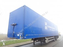 semi remorque Floor 2-AXLE BOX / STEERING AXLE / LOADING PLATFORM /