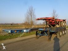 semi remorque Groenewegen 3-Axle Chassis / ROR / Full Steel