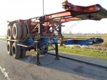 semirimorchio Van Hool 2-Axle 20 FT Chassis / Steel Suspension / Double