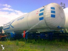 Crylor gas, methane, LNG semi-trailer