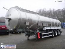semirremolque Magyar Fuel tank inox 39.5 m3 / 9 comp