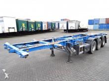semi remorque Groenewegen 20FT/30FT ADR chassis, MOT/ADR till 14/11/2017