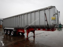 Fruehauf CRANE 58 CU-YD ALUMINIUM BULK TIPPING TRAILER - 2008 semi-trailer