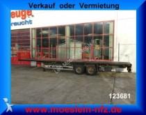semirimorchio Schmitz Cargobull 2 Achs Plattform Auflieger mit Steckrungen