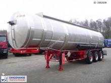 semi remorque Maisonneuve Fuel tank inox 39.2 m3 / 6 comp.