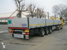 semirimorchio Merker M300 CON PIANTANE SPONDATO BUCA COILS