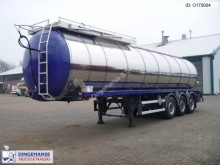 semi remorque EKW / Stokota Bitumen tank inox 32.8 m3 / 1 comp + p