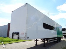 semi remorque Van Eck 2-Axle Box trailer / NL Trailer / APK / Air/ Luf