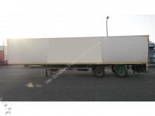 semi remorque Floor FRIGO 2AXLE CITY TRAILER WITH CARRIER GENESIS TR