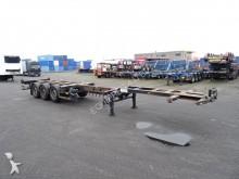 Broshuis 45FT HC, 2x uitschuifbaar, schijfremmen, 1x lift semi-trailer