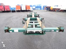 semi reboque Broshuis 45FT HC, 2x extendable, 1x liftaxle, BPW,+drumbr