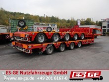 semirremolque ES-GE 4-Achs-Satteltieflader - teleskopbierbar - nachl