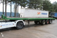 semi remorque Pacton 3-AXLES BPW - AIR SUSPENSION - VERY STRONG PLATF