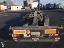 semirimorchio Pacton 45' HC polyvalent containerchassis