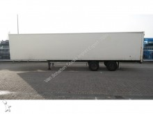 semi remorque Groenewegen 2 AXLE CLOSED BOX TRAILER