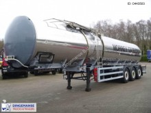 semirimorchio General Trailers Oil tank inox 28.2 m3 / 1 comp