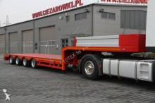 semi remorque ES-GE LOW-LOADER 4 AXLES SEMITRAILER 4SOU-25-28 2N