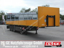 semirimorchio Kögel 3-Achs-Sattelanhänger, Bordwände. Containerverri