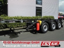 semirimorchio Krone 3-Achs-Containerchassis 20ft