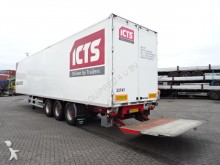Burg Box, full chassis, SAF, taillift semi-trailer