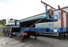 semi remorque Bertoja S 72 allungabile sterzatura idraulica