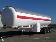 Indox gas tanker semi-trailer