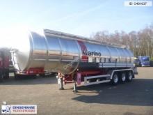 semi remorque Magyar Fuel tank inox 39.2 m3 / 7 comp.