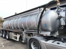 semirremolque Schrader Saug u.Druck Chemie-Auflieger V2A