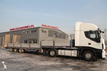semirremolque Berger 3 AXLE FLATBED LOW LOADER SEMI TRAILER BERGER N34