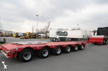 semi remorque ES-GE 6 AXLES EXTENSIBLE LOW-LOADER 6 SOU-25-60.3N 3 STEERING AXLES