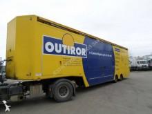 semirimorchio furgone plywood / polyfond Leveques