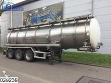 semi remorque Burg Food RVS Tank, 33400 Liter, food Levensmiddelen,