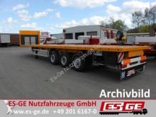 semi remorque ES-GE 3-Achs-Sattelanhänger - Containerverriegelungen