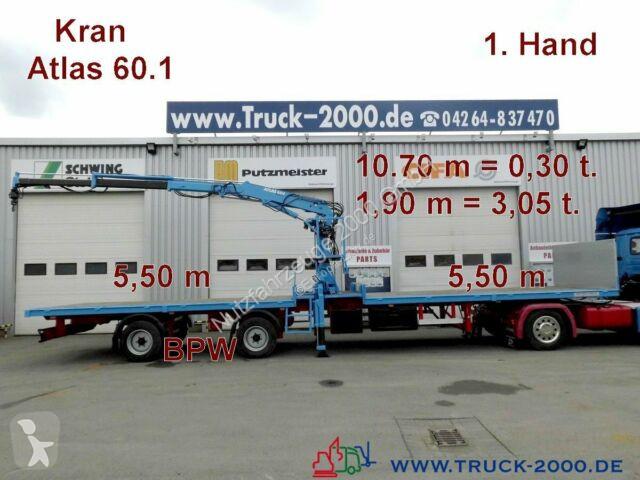 Voir les photos Semi remorque Kramer Atlas 60.1 Kran SpezialTransport f.Container usw