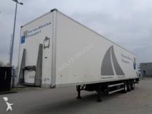 semi remorque Groenewegen DRO 12-27, 3 Achsen, SAF, Hebebuhne, NL trailer