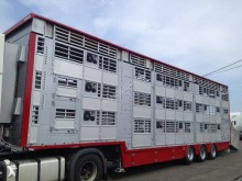 used livestock semi-trailer
