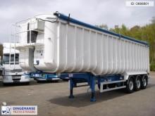 semirremolque Fruehauf Tipper trailer alu 54 m3 + tarpaulin