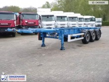semirimorchio Van Hool 3-axle container trailer 20-30 ft