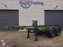 semirremolque Van Hool 20ft chassis bladvering