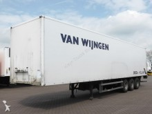semi remorque Groenewegen 3 AXLE CLOSED BOX 3