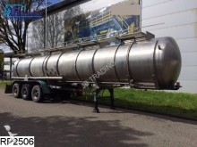 semi remorque Panissars Chemie 32000 Liter, RVS tank, 4 Compartments, 4
