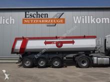 semi remorque Carnehl Hardoxmulde mit Schüttung, BPW-Achsen, Luft-Lift