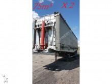 Benalu 2x TIPPER / KIPPER - 75m3 - ALU semi-trailer