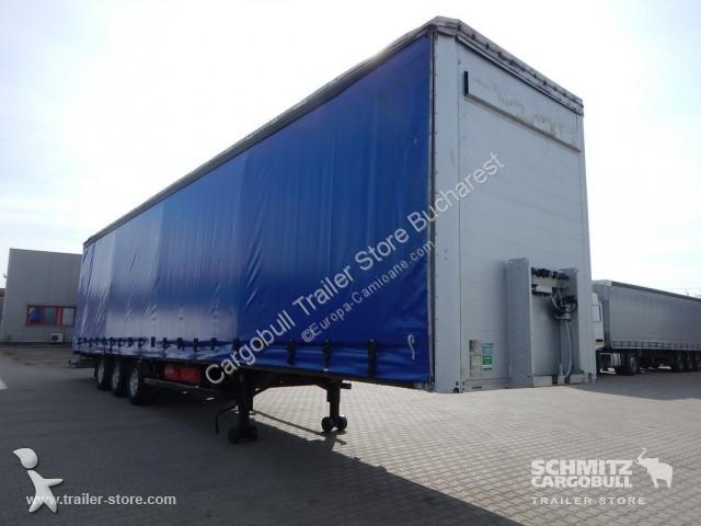 Side Door Tractor Trailer : Used kögel tautliner semi trailer curtainsider mega side