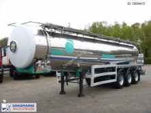 semi remorque Magyar Chemical tank inox 28 m3 / 1 comp